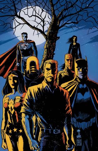 Black Hammer / Justice League #4 (Francavilla Cover)