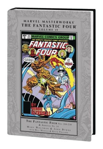 Fantastic Four Vol. 19 (Marvel Masterworks)