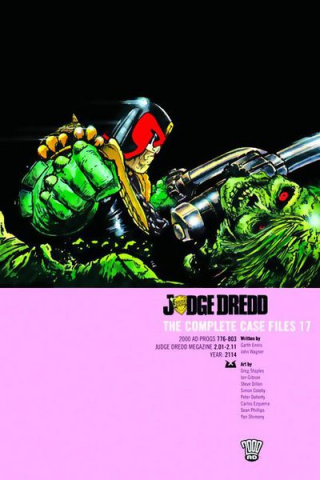 Judge Dredd: The Complete Case Files Vol. 17