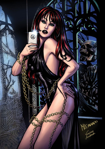 Grimm Fairy Tales: Grimm Tales of Terror #12 (Sanapo Cover)