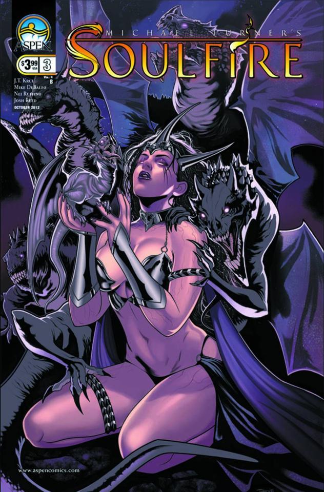 Soulfire #3 (Torque Cover)
