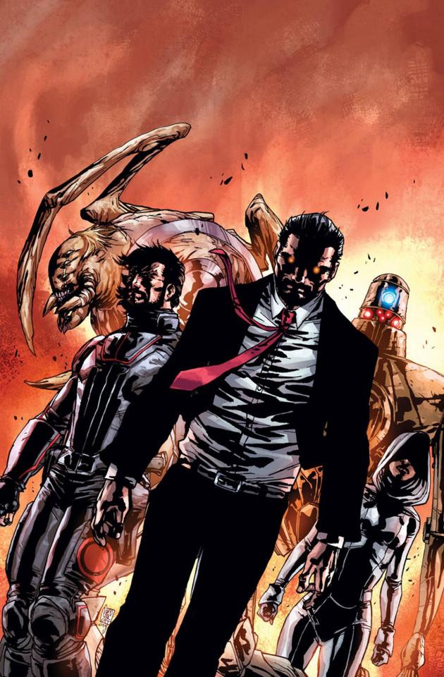 Imperium #9 (Camuncoli Cover)