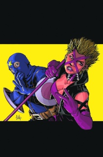 Kick-Ass 3 #1 (2nd Printing Hamner Cover)