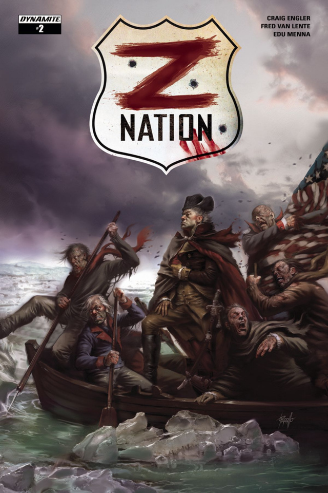 Z Nation #2 (Parrillo Cover)