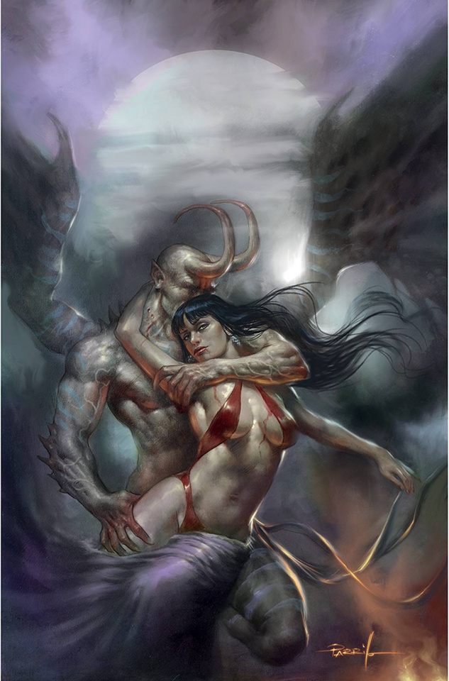Vampirella #19 (Parrillo Virgin Cover)