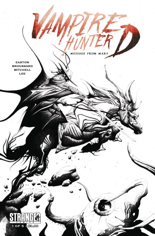 Vampire Hunter D: Message from Mars #1 (2nd Printing)