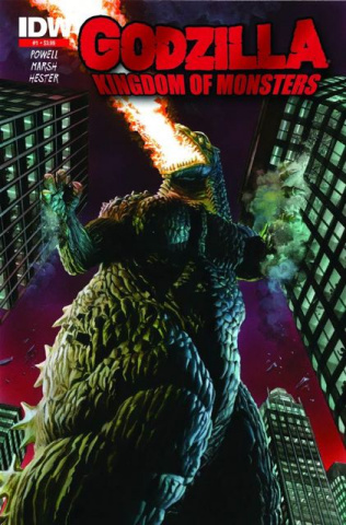 Godzilla: Kingdom of Monsters #1 (2nd Printing)