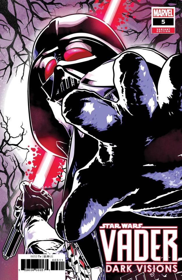 Star Wars: Vader - Dark Visions #5 (Aco Cover)