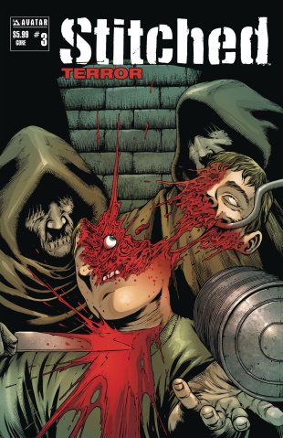 Stitched: Terror #3 (Gore Cover)