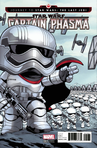 Journey to Star Wars: The Last Jedi - Captain Phasma #1 (Funko Cover)