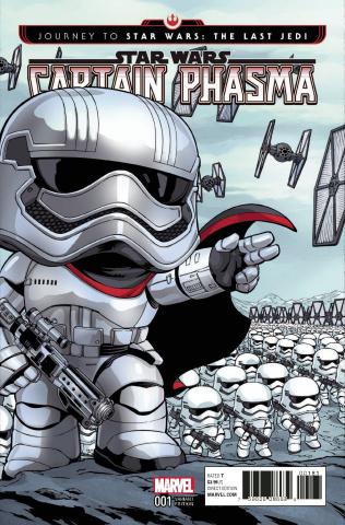 Journey to Star Wars: The Last Jedi - Captain Phasma #1 (Funko Cover)