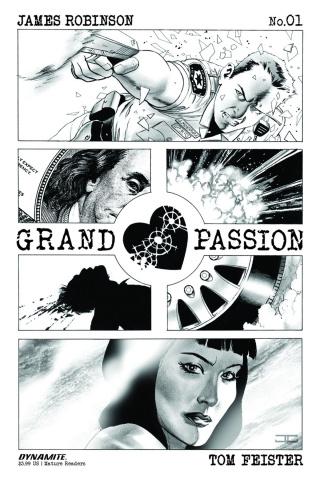 Grand Passion #1 (15 Copy Cassaday Cover)