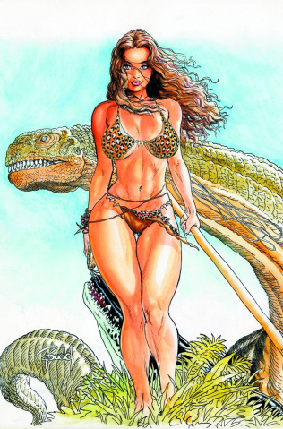 Cavewoman: Labyrinth (Budd Root Special Edition)