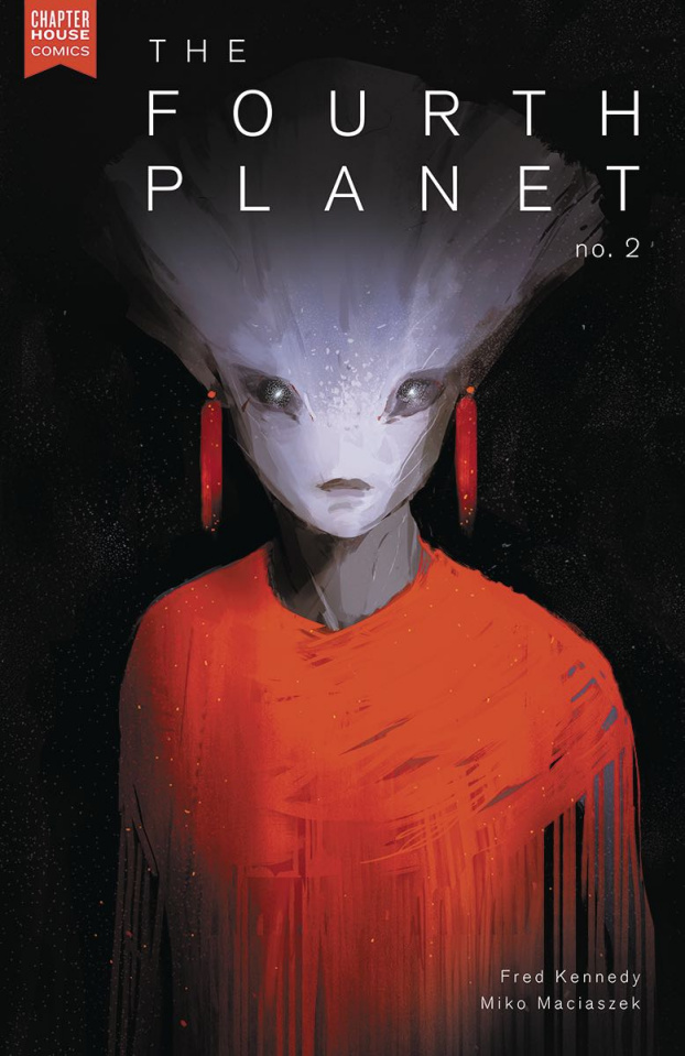 The Fourth Planet #2 (Maciaszek Cover)
