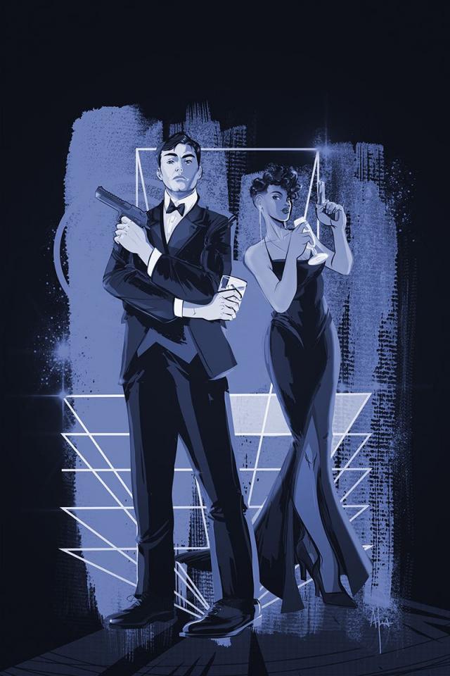 James Bond #4 (15 Copy Richardson Tint Virgin Cover)