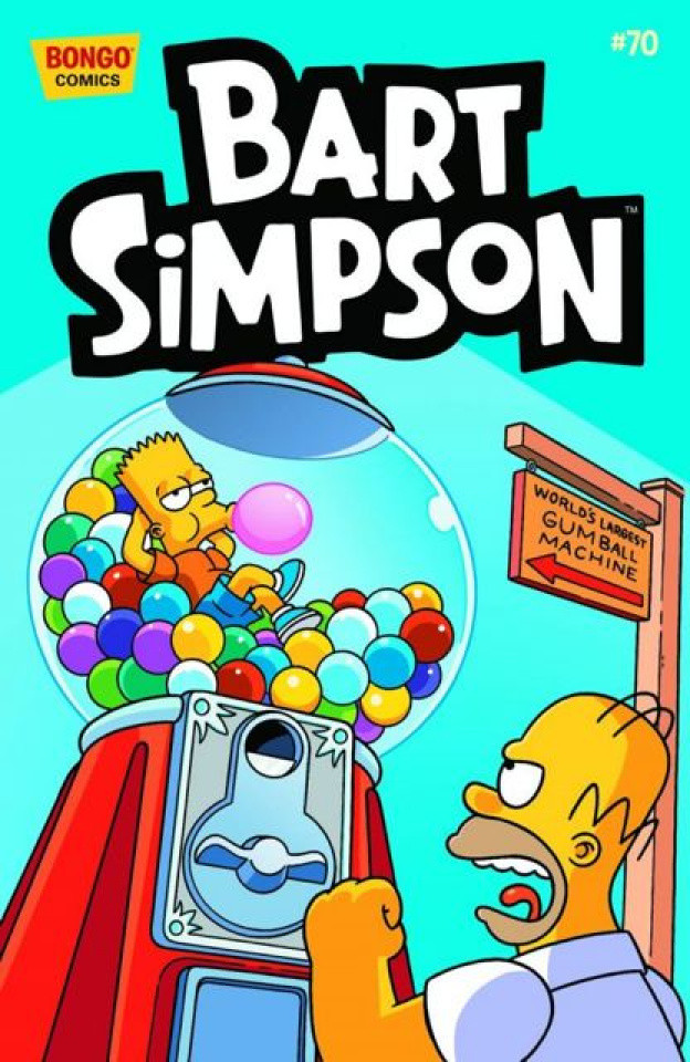 Bart Simpson Comics #70