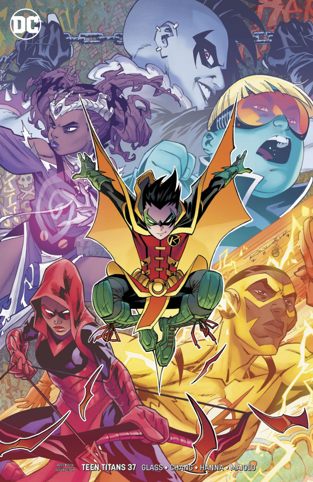 Teen Titans #37 (Variant Cover)