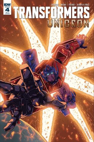 The Transformers: Unicron #4 (10 Copy Guidi Cover)