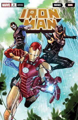 Iron Man #2 (Checchetto Fortnite Cover)