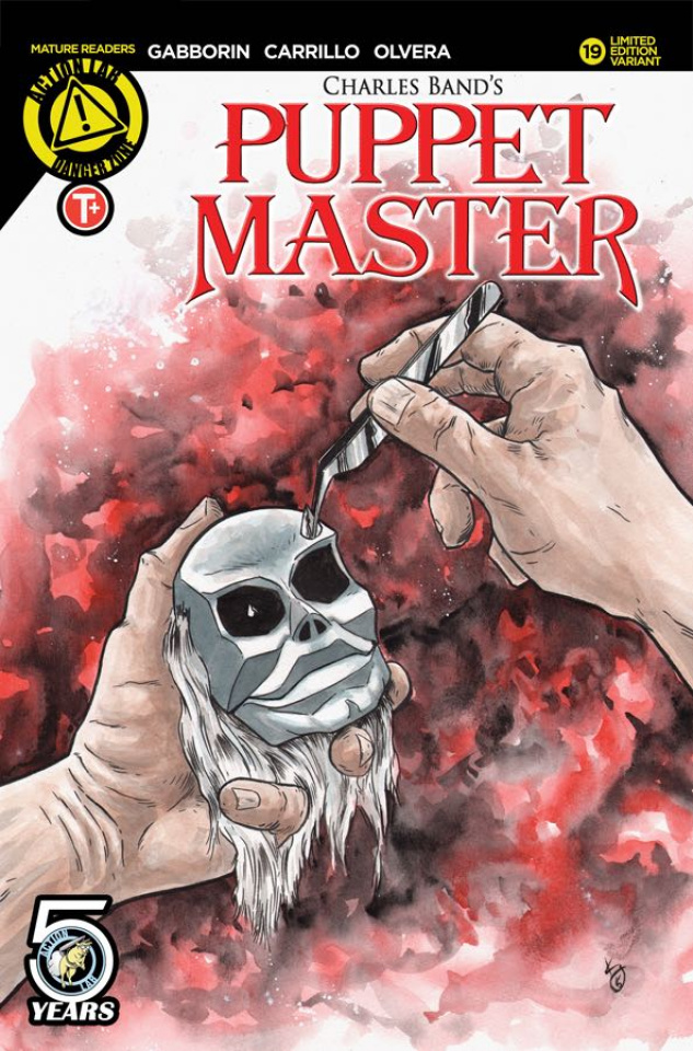 Puppet Master #19 (Williams Cover)
