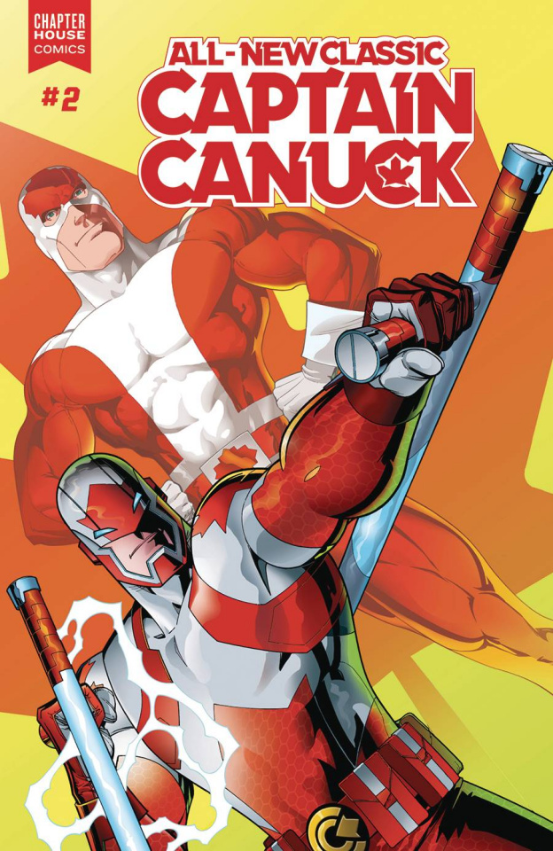 All-New Classic Captain Canuck #2 (St. Aubin Cover)