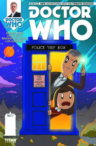 Doctor Who: New Adventures with the Twelfth Doctor #16 (10 Copy Cover)