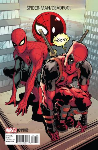 Spider-Man / Deadpool #1 (Deadpool Cover)