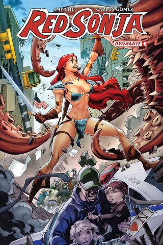 Red Sonja #6 (Gomez Cover)