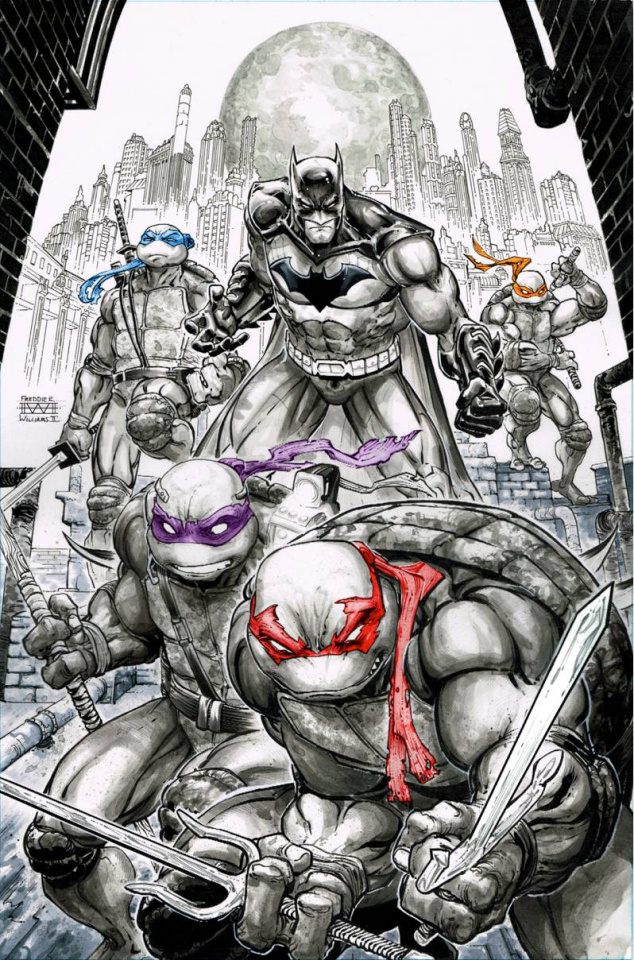 Batman / Teenage Mutant Ninja Turtles #1 (2nd Printing)