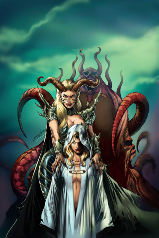 Grimm Fairy Tales: Satan's Hollow #3 (Luis Cover)