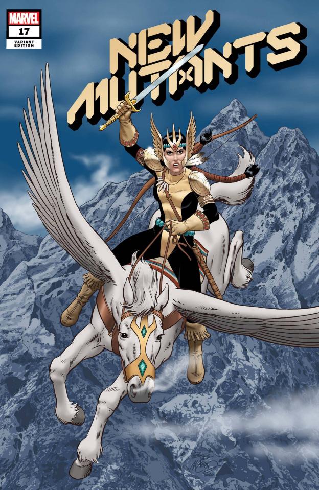 New Mutants #17 (McLeod Cover)