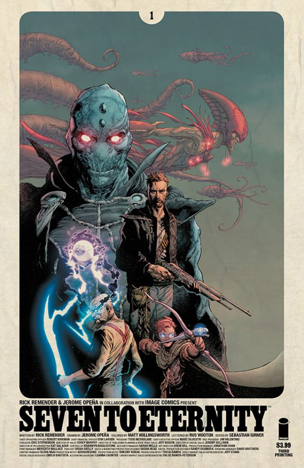 Seven to Eternity #1 (3rd Printing)
