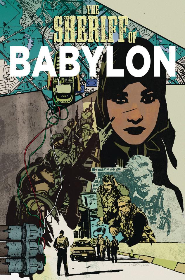 The Sheriff of Babylon Vol. 2: Pow. Pow. Pow.