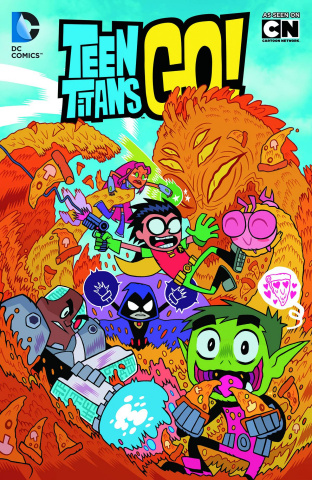 Teen Titans: Go Truth, Justice, and Pizza!