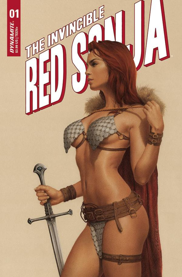 The Invincible Red Sonja #1 (Celina Cover)