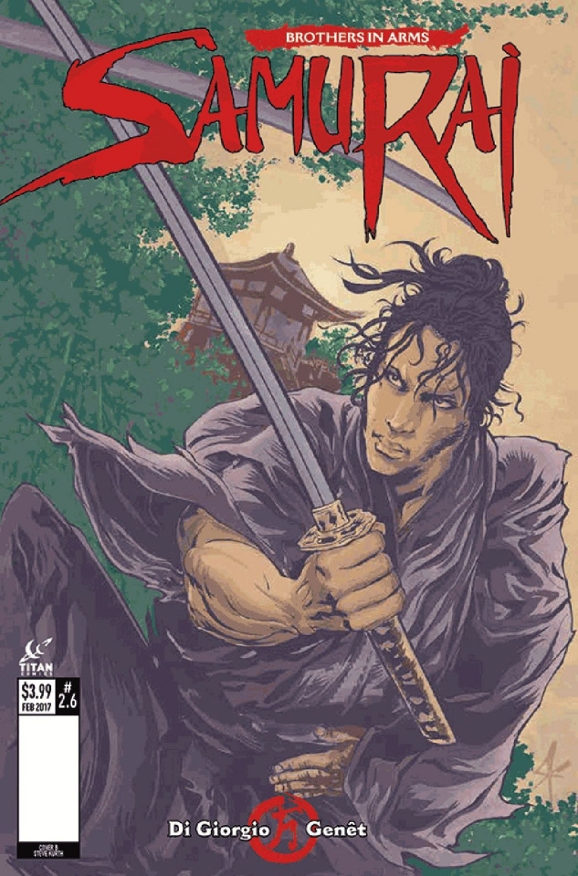 Samurai: Brothers in Arms #6 (Kurth Cover)