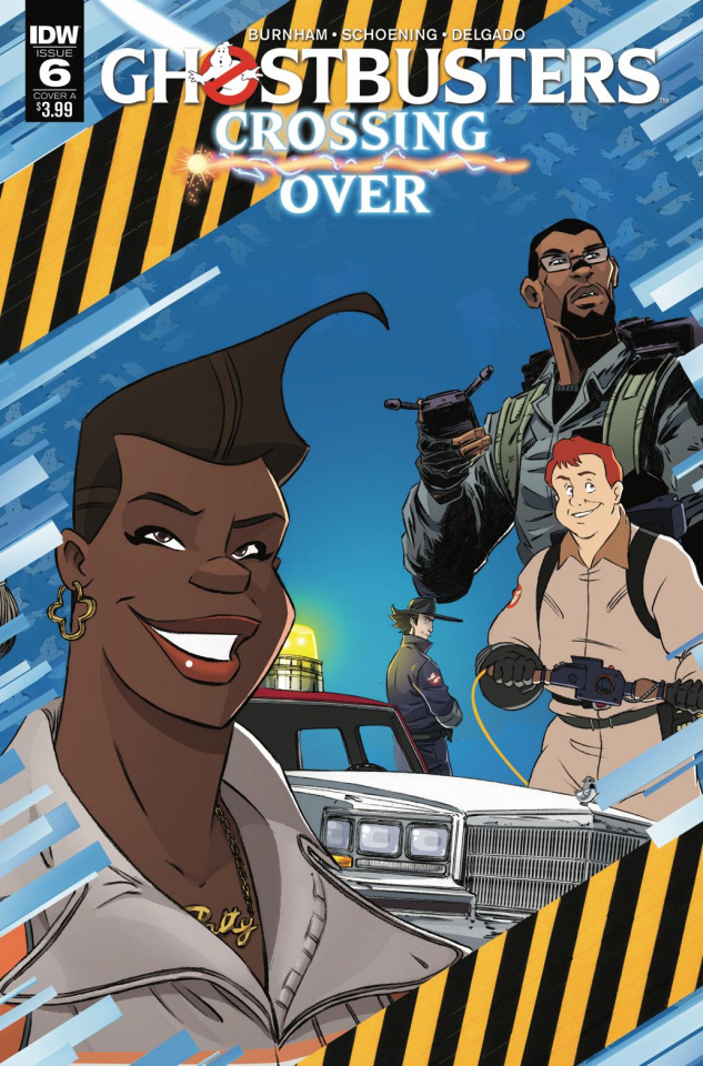 Ghostbusters: Crossing Over #6 (Schoening Cover)