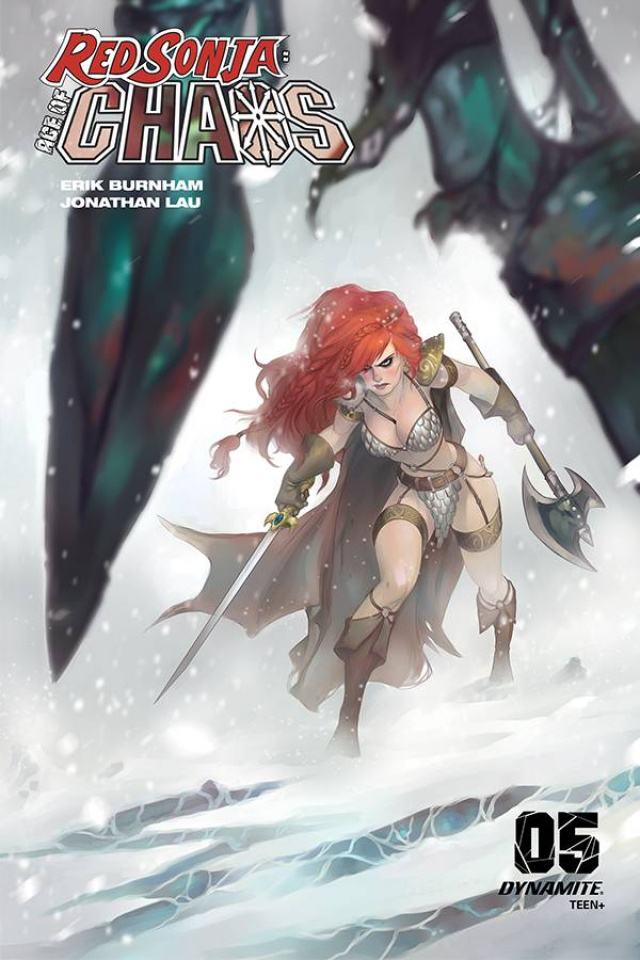Red Sonja: Age of Chaos #5 (Hetrick Cover)