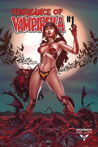 Vengeance of Vampirella #1 (10 Copy Buzz Cover)