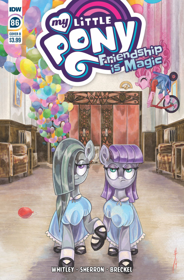 My Little Pony: Friendship Is Magic #86 (Richard Cover)