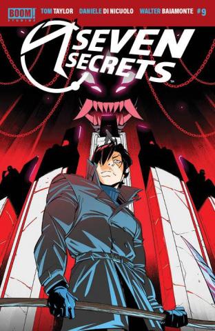 Seven Secrets #9 (Di Nicuolo Cover)