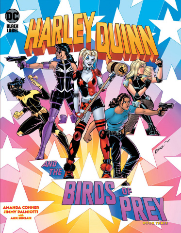 Harley Quinn and the Birds of Prey #3 (Amanda Conner Cover)