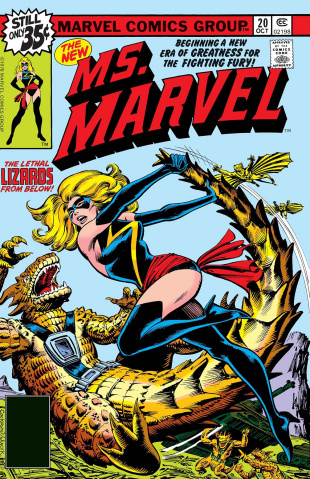 Captain Marvel: The New Ms. Marvel #1 (True Believers)