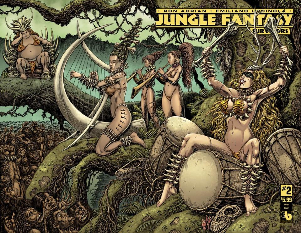 Jungle Fantasy: Survivors #2 (Wrap Cover)