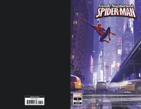 Friendly Neighborhood Spider-Man #1 (Animation Cover)