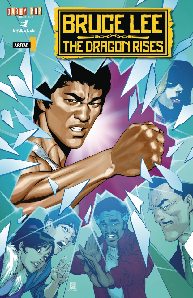 Bruce Lee: The Dragon Rises #1 (Chang Cover)