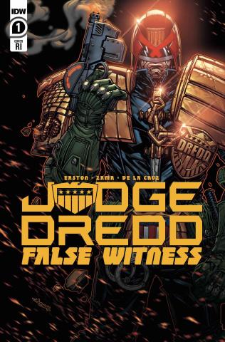 Judge Dredd: False Witness #1 (10 Copy Meyers Cover)