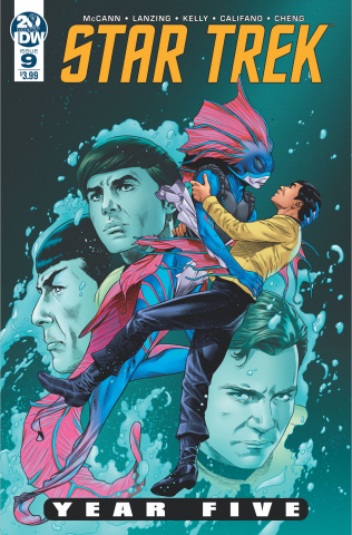 Star Trek: Year Five #9 (Thompson Cover)