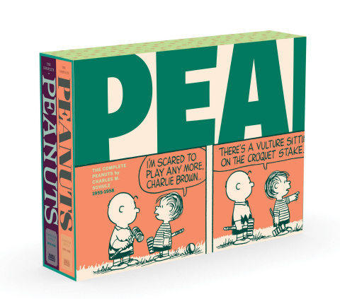 The Complete Peanuts Box Set: 1955-1958