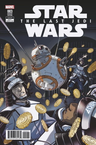 Star Wars: The Last Jedi #3 (Wijngaard Cover)